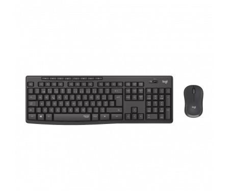 Combo Teclado e Mouse Silent Wireless MK295 Logitech