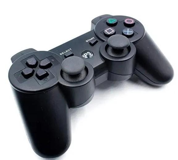 Controle Joystick Doubleshock PS3 Wireless Preto