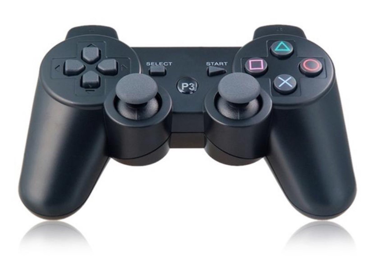 Controle Joystick Doubleshock PS3 Wireless Preto