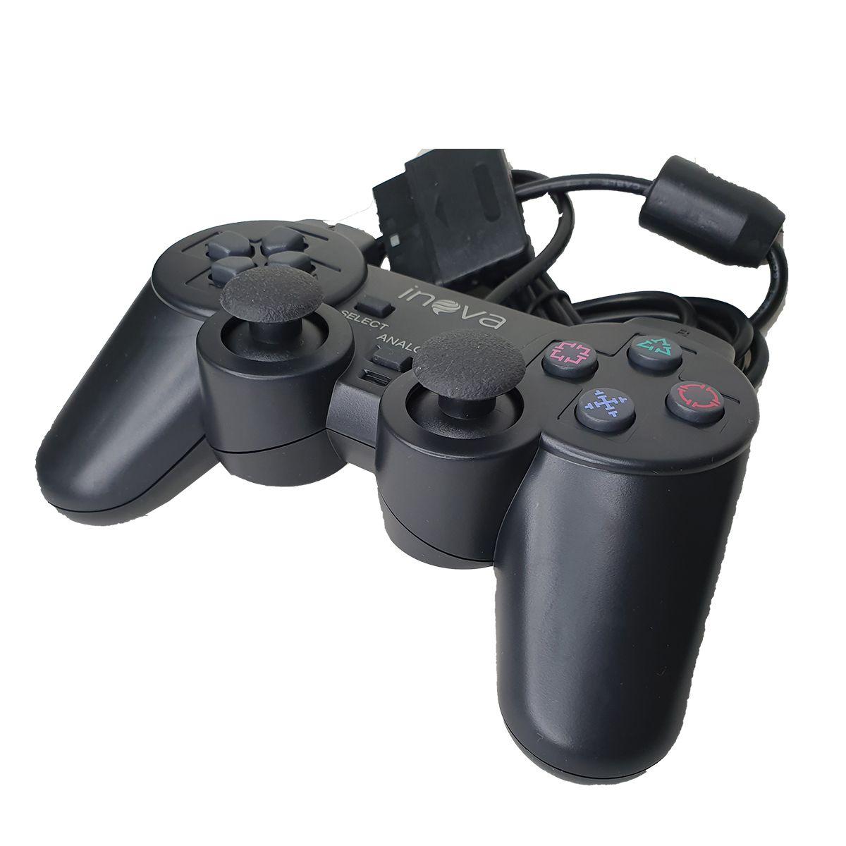 Controle JoyStick Play Dual Schok CON-8302 Inova