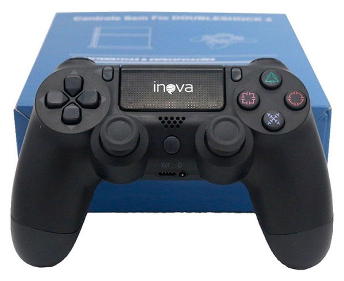 Joystick Controle sem Fio para PS4 Dualshock Inova