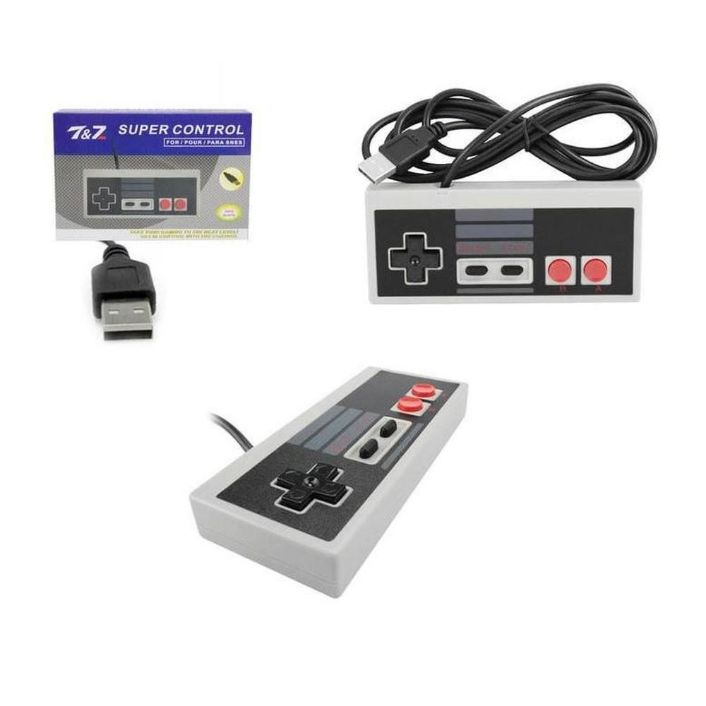 Controle USB Retro Super Clássico Joystick para Celular e PC