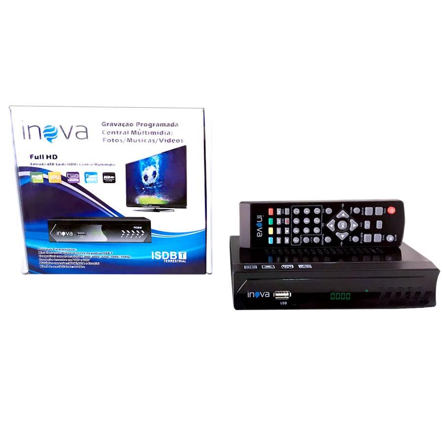 69780ce99e6 Conversor Digital Inova com Saída HDMI e RCA Tv Tubo Antiga e Led - RECALL  INFORMATICA ...