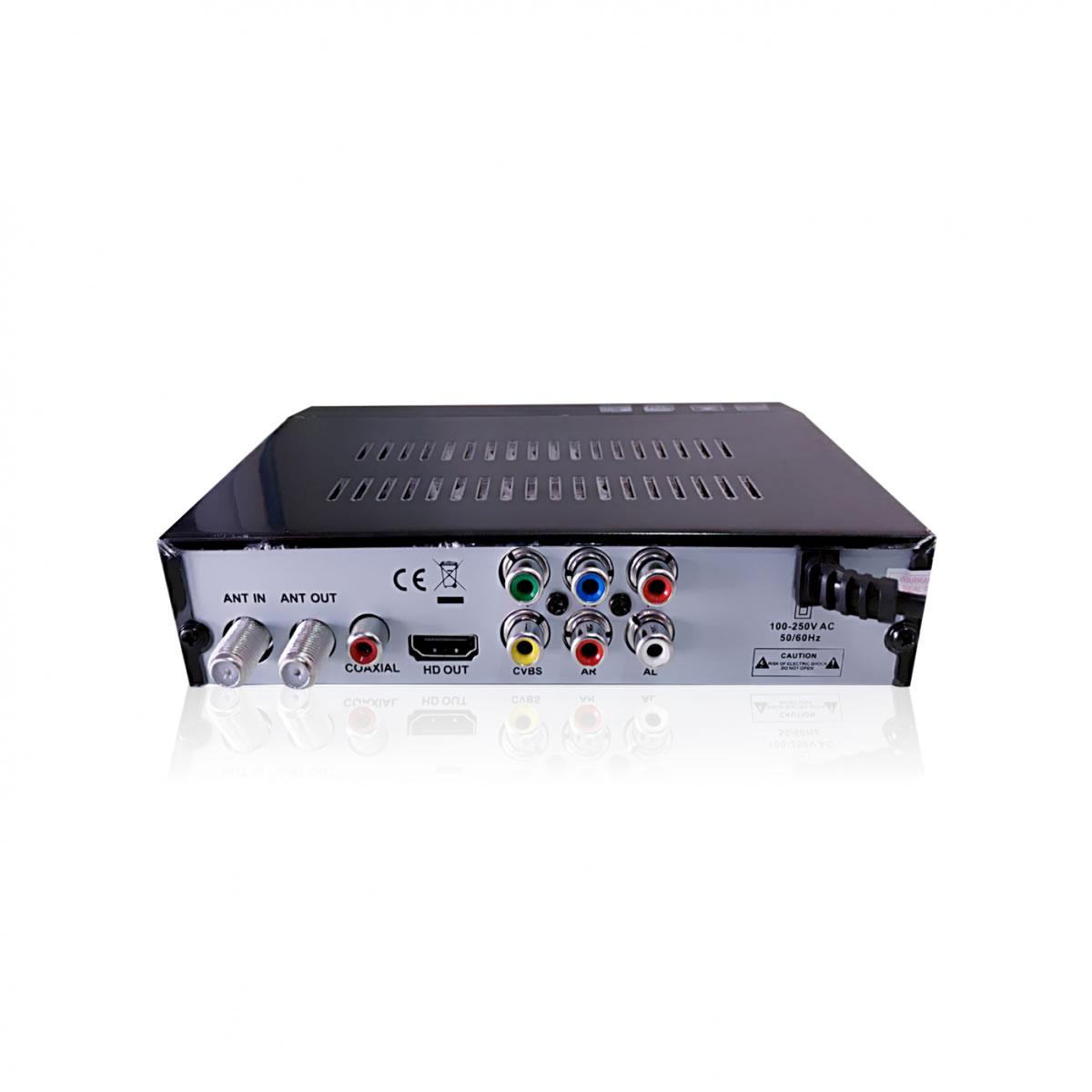 Conversor Digital Inova com Saída HDMI e RCA Tv Tubo Antiga e Led