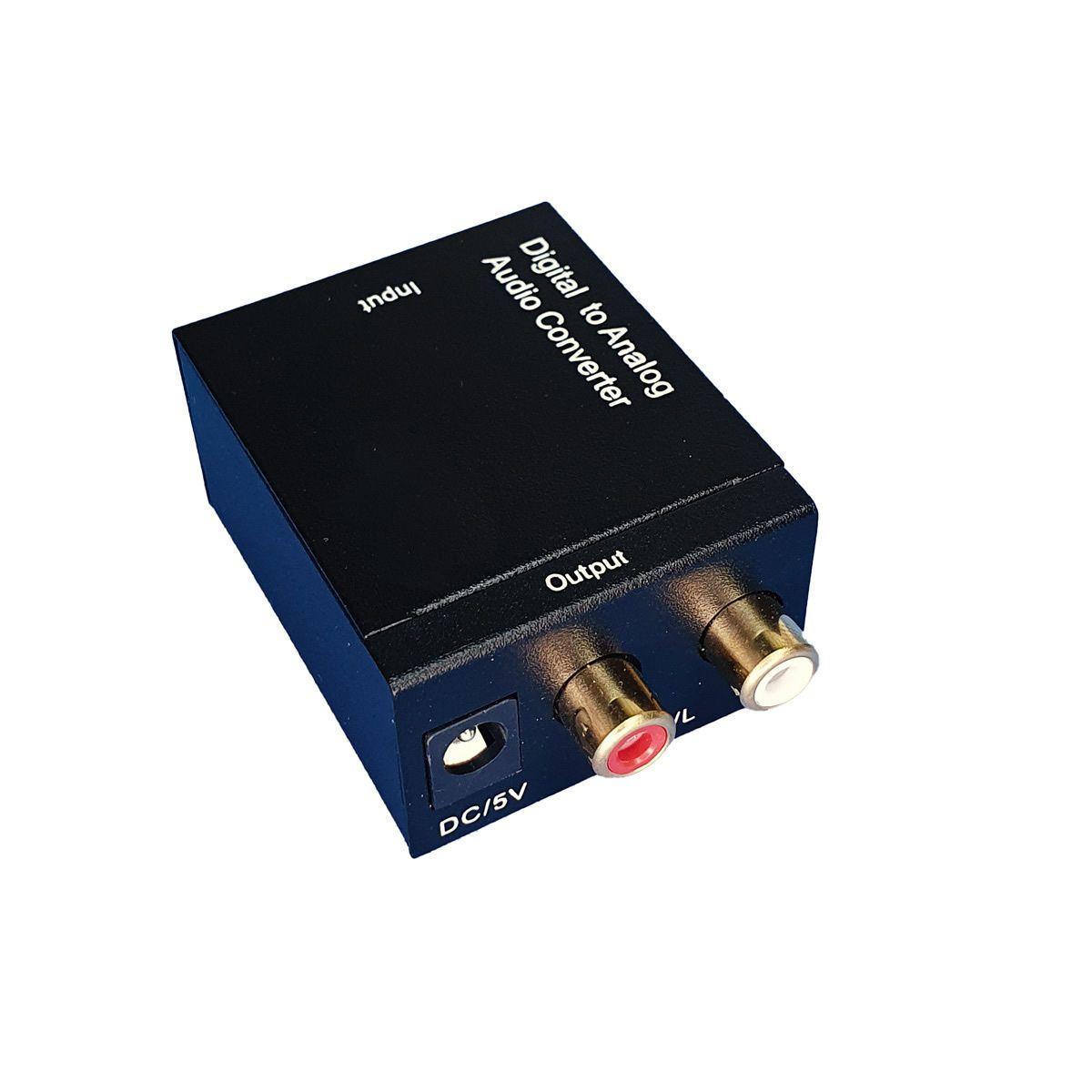 Conversor Óptico Para RCA Áudio
