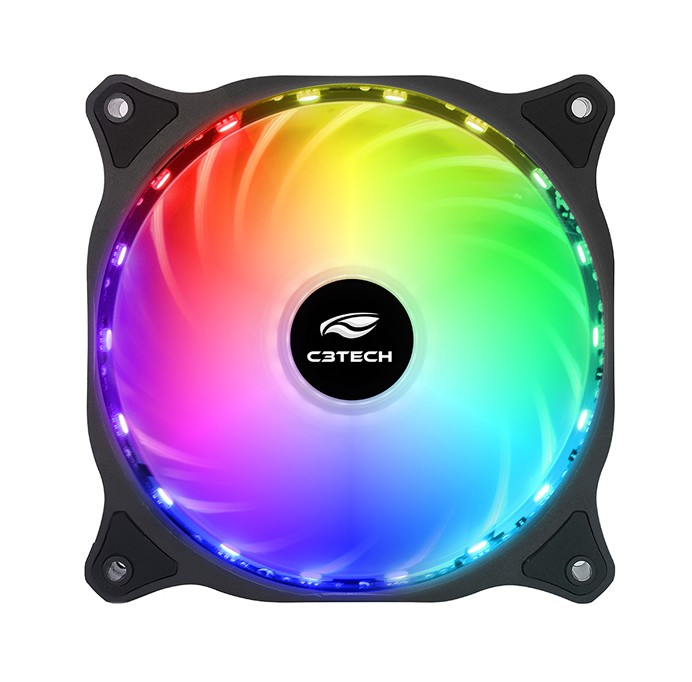 Cooler FAN RGB C3Tech Storm 120mm F9-L150RGB