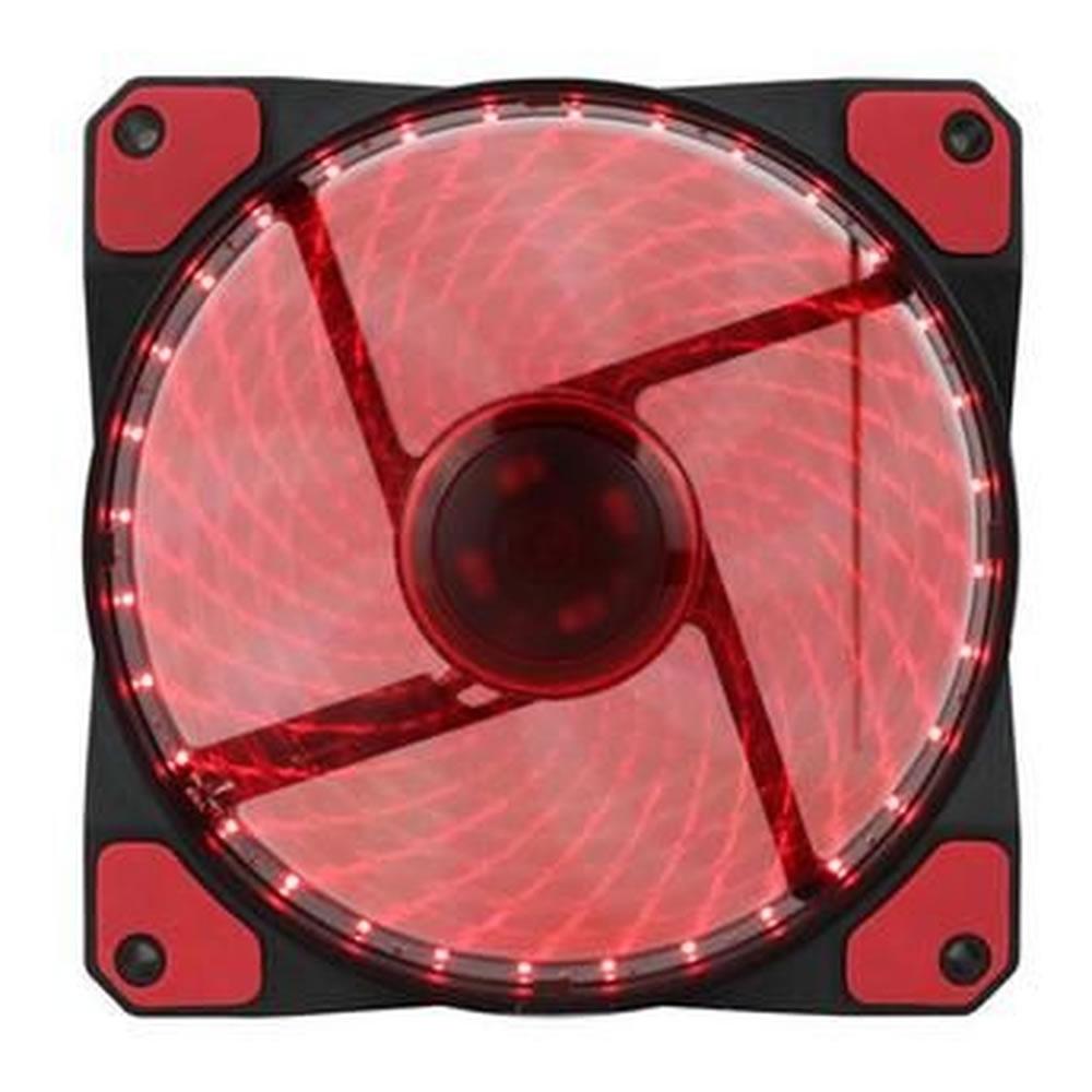 Cooler para Gabinete Gamer 120mm 32 LED Vermelho GMX-GF12R Gamemax
