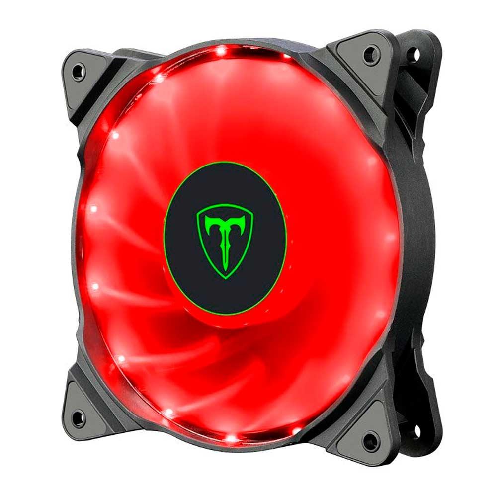 Cooler para Gabinete 120mm Led Vermelho T-DAGGER T-TGF300