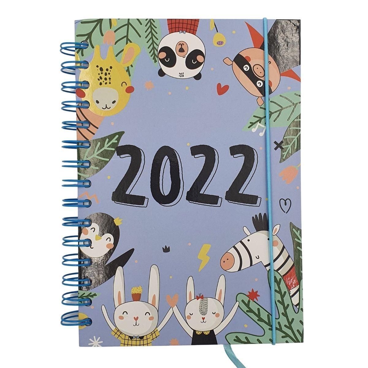 Agenda 2022 A5 Animal Animais
