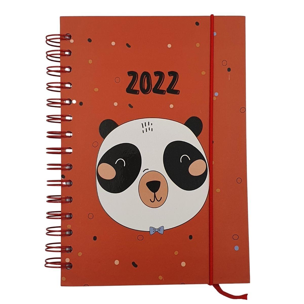 Agenda 2022 A5 Animal Panda