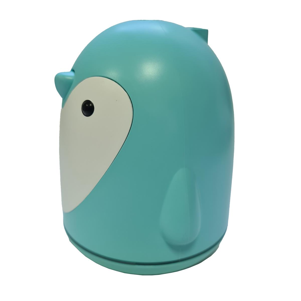 Difusor Umidificador de Ar com Luminária Pinguim Azul