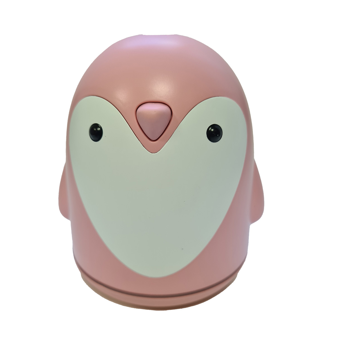Difusor Umidificador de Ar com Luminária Pinguim Rosa