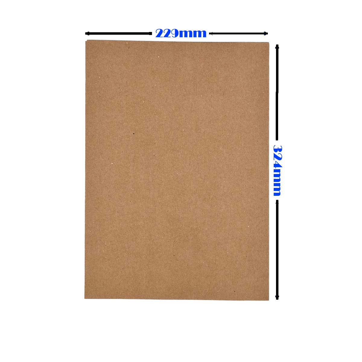 Envelope Saco kraft Natural 80g 229x324 Foroni com 100un Cabe A4