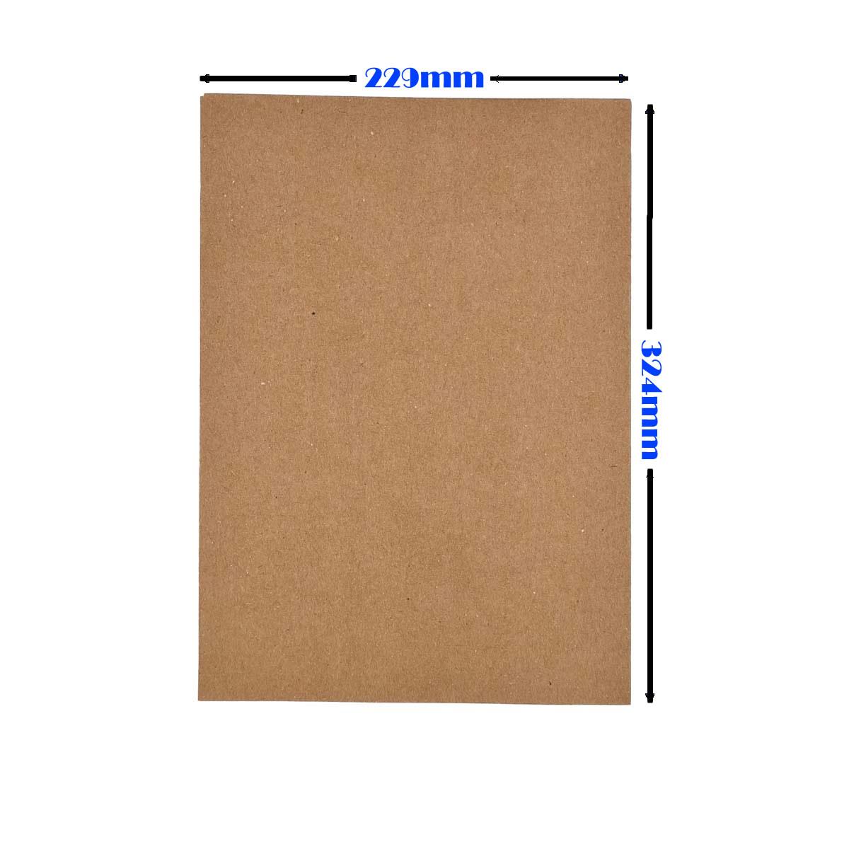 Envelope Saco kraft Natural 80g 229x324 Foroni com 250un Cabe A4