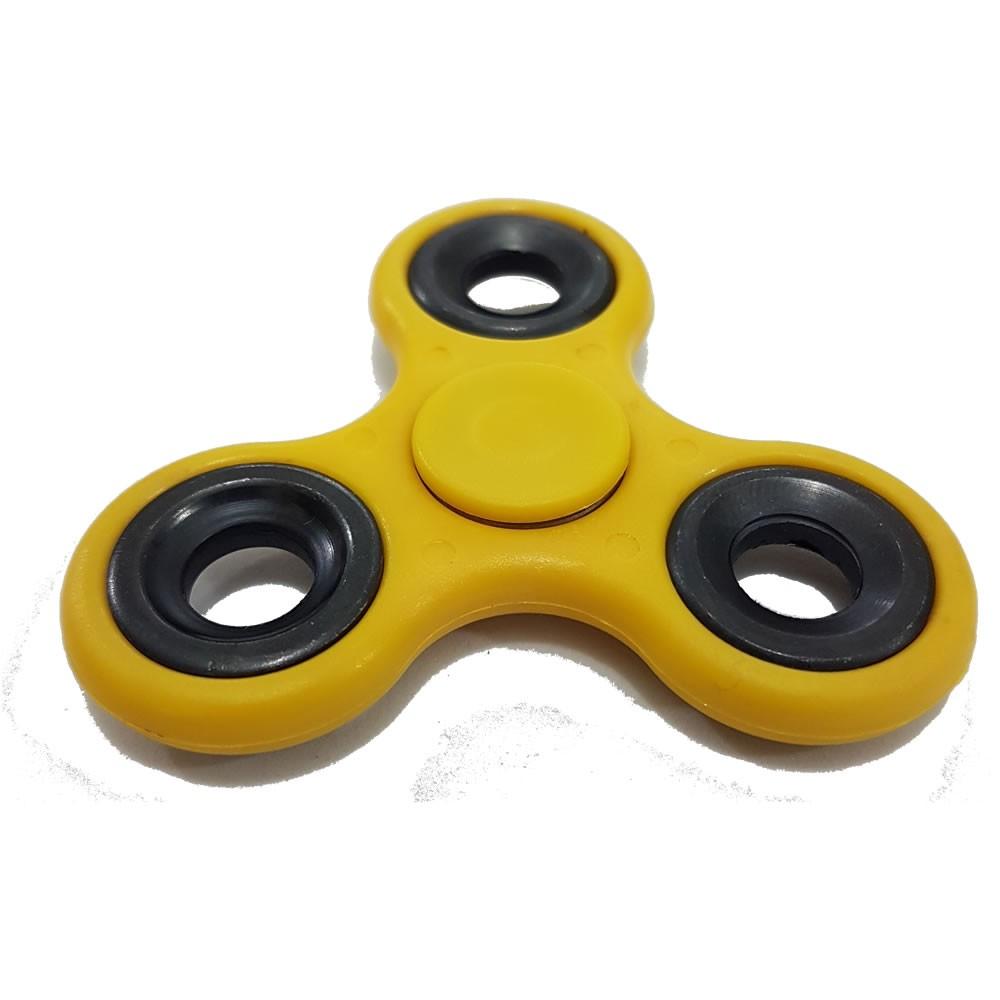 Fidget Hand Spinner Amarelo