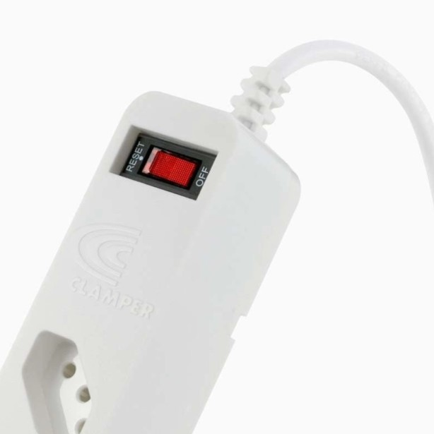 Filtro de Linha 5 Tomadas com Proteção DPS+ iClamper