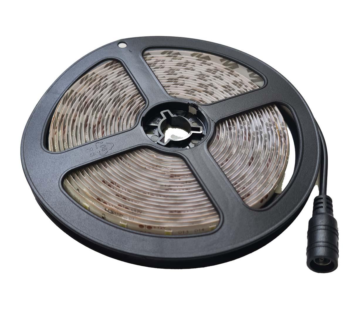 Fita LED 2835 Luz Branco Frio com 4,5 Metros e Proteção de silicone