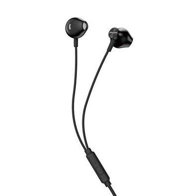 Fone de Ouvido Com Microfone Embutido Preto TAUE101 Philips