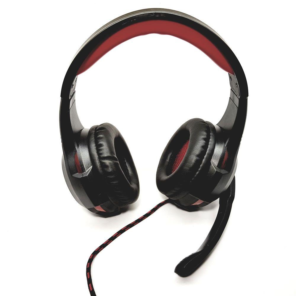 Fone de Ouvido com Microfone Gamer LED Bright 0468