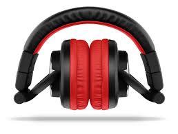 Fone de Ouvido Headphone DJ Driver de 50mm 1500mW Vermelho PH117 Multilaser