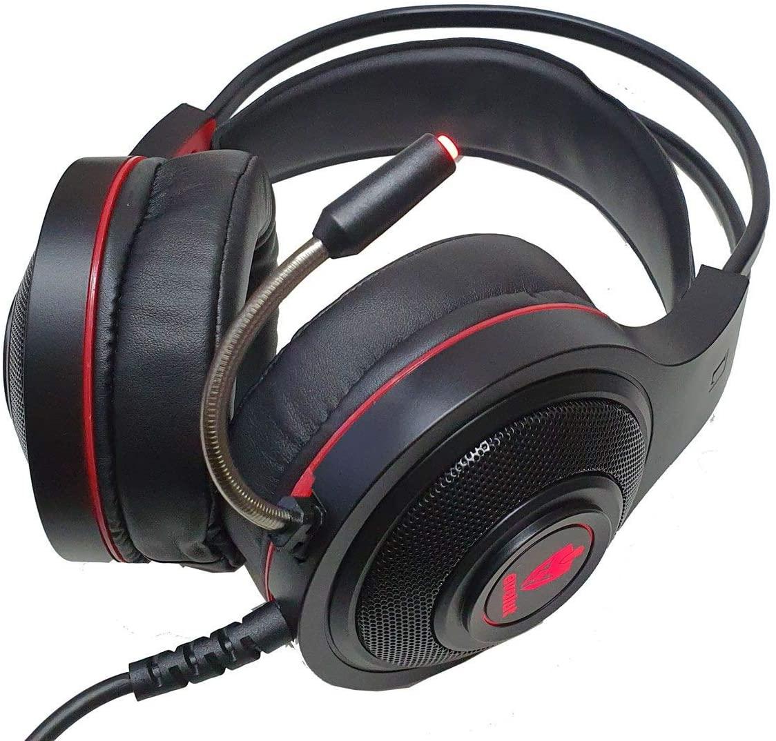 Fone de Ouvido Headset Gamer EG301R Têmis Evolut