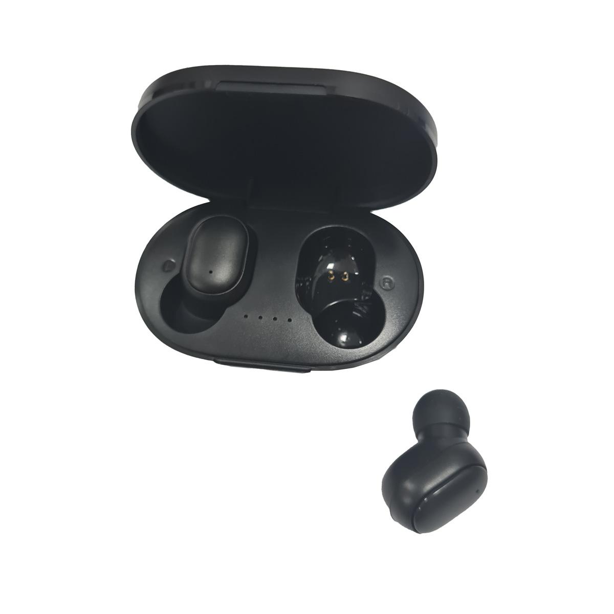 Fone de Ouvido Sem Fio Wireless Bluetooth Preto FON-8592 Inova