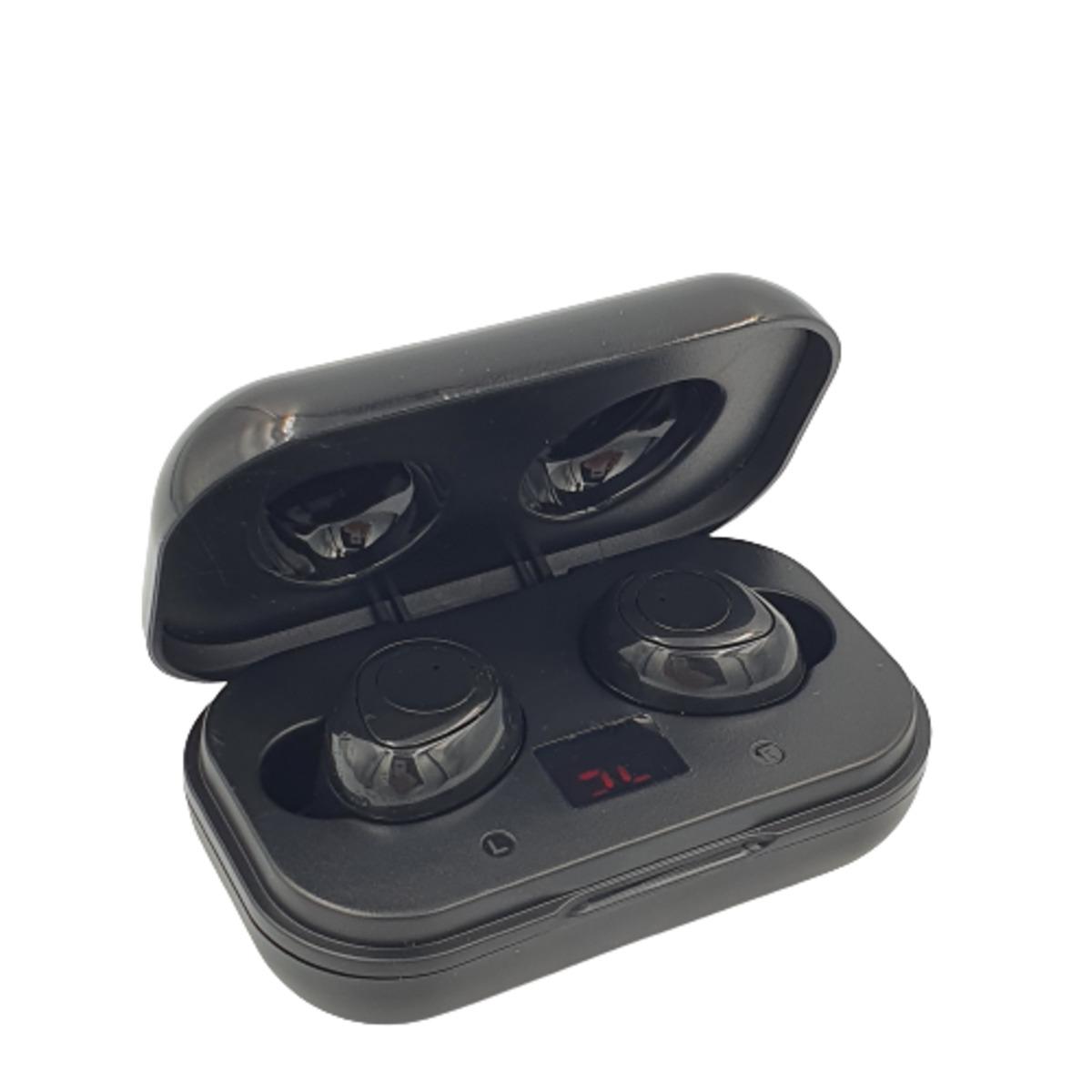 Fone de Ouvido Sem Fio Wireless Bluetooth Preto FON-8614 Inova