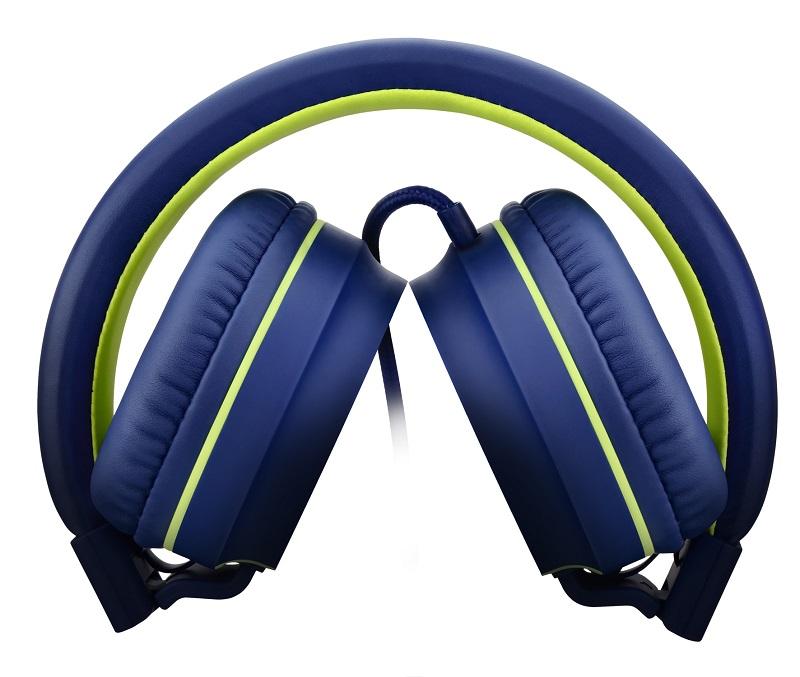 Fone Headphone Pulse Azul e Verde PH162 Multilaser