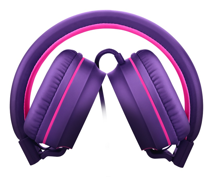 Fone Headphone Pulse Preto com Lilás Roxo PH161 Multilaser