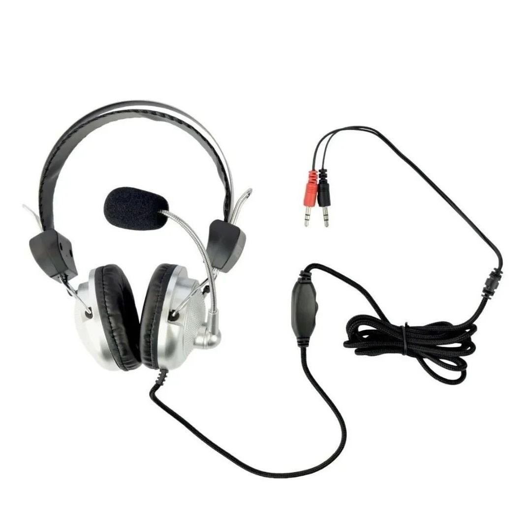 Fone Headset P2 KT-301 para PC Videoconferência Zoom Skype