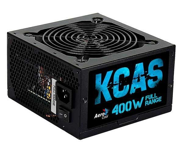 Fonte 400W 80 Plus KCAS Aerocool para PC Gamer