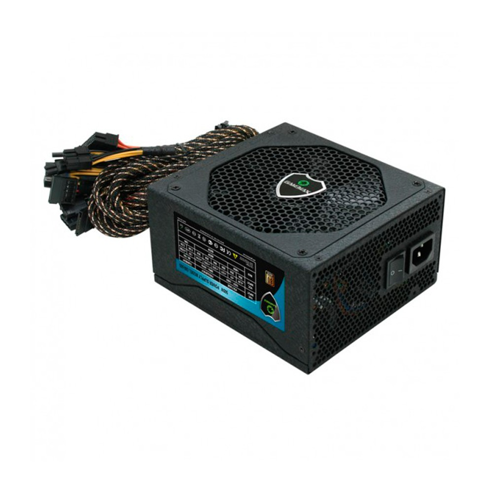 Fonte 500W GMX 80 Plus Bronze 20+4 Pinos Gamemax GM500