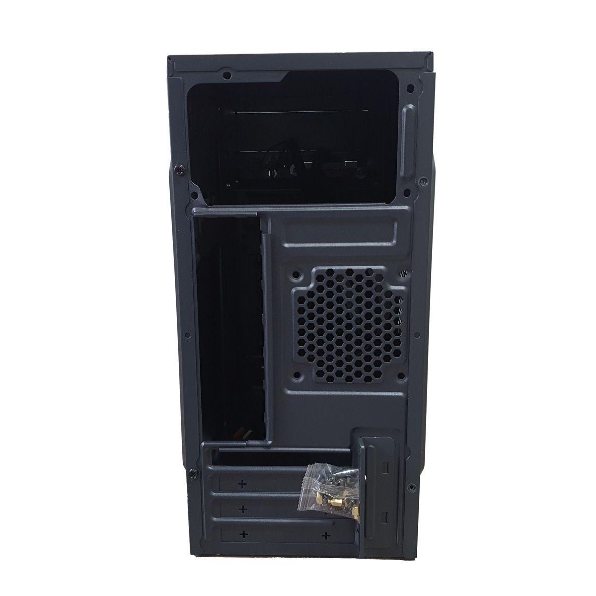 Gabinete para PC Fortrek SC501 Preto Mini ATX Para Escritório