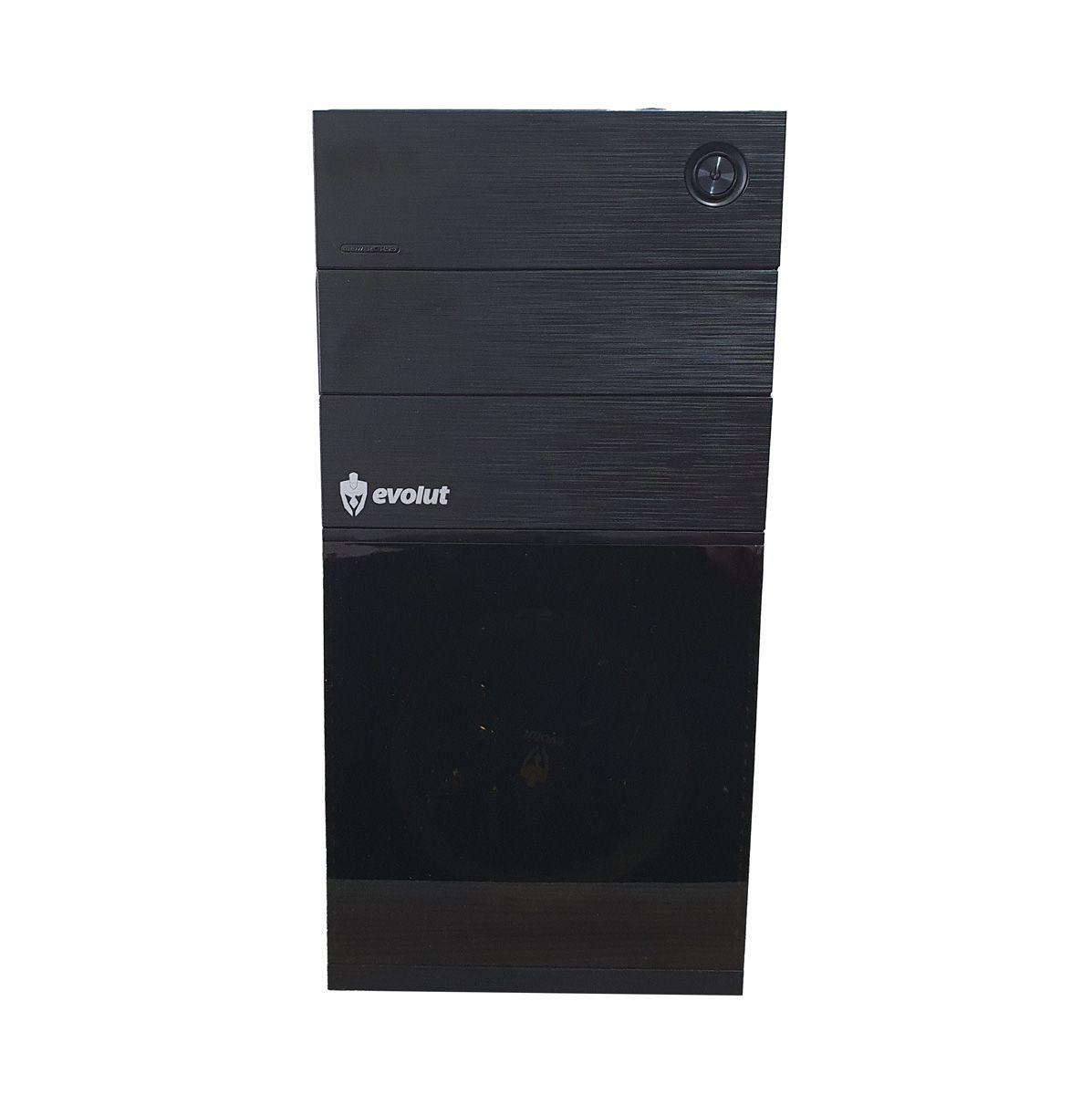 Gabinete para PC Gamer EG804 com Cooler LED Vermelho EVOLUT