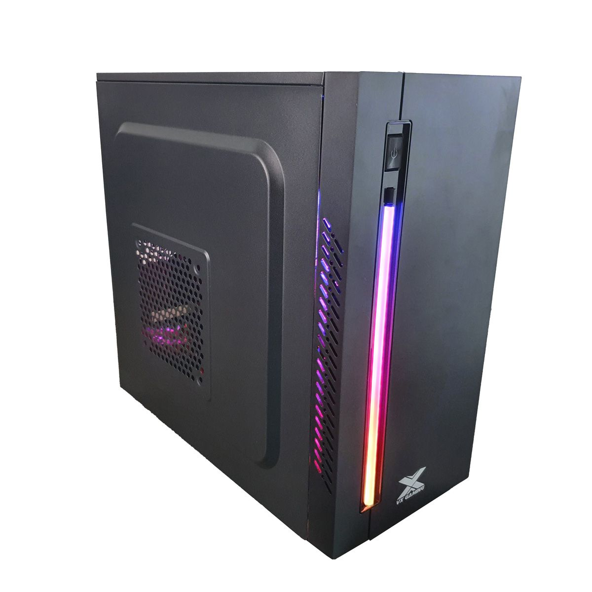 Gabinete para PC Gamer VX Australis Preto LED RGB Vinik