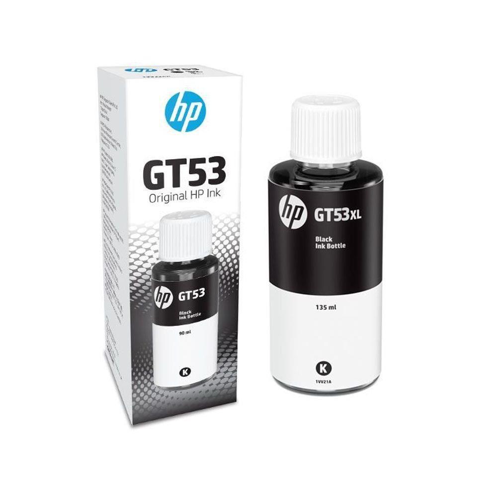 Refil de Tinta HP M0H57AL GT53 GT51 Preto 90ML para GT5810 GT5820 GT5822 Ink Tank 316 412 416