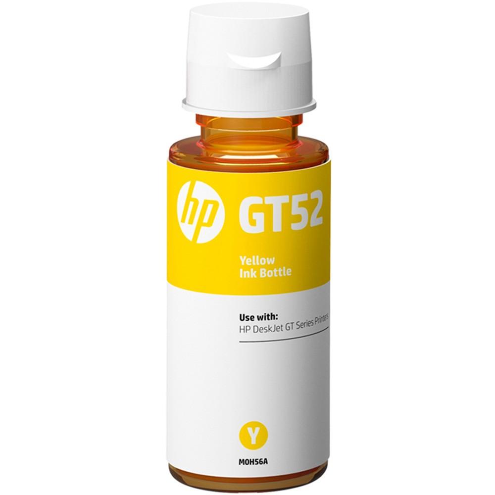Refil de Tinta HP M0H56AL GT52 Amarelo 70ML para GT 5822 5810 5820
