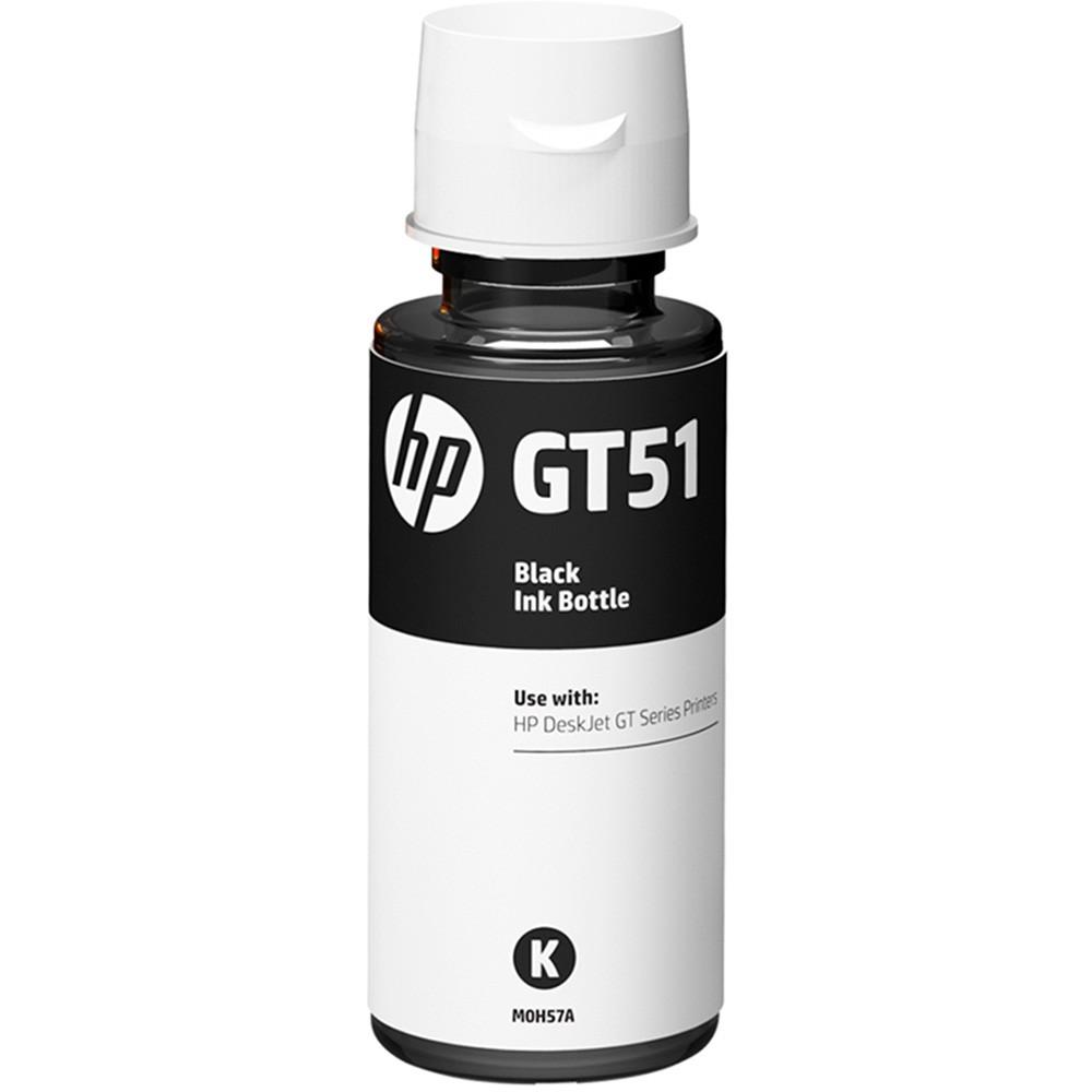 Refil de Tinta HP M0H57AL GT51 Preto 90ML GT 5810 5820 5822