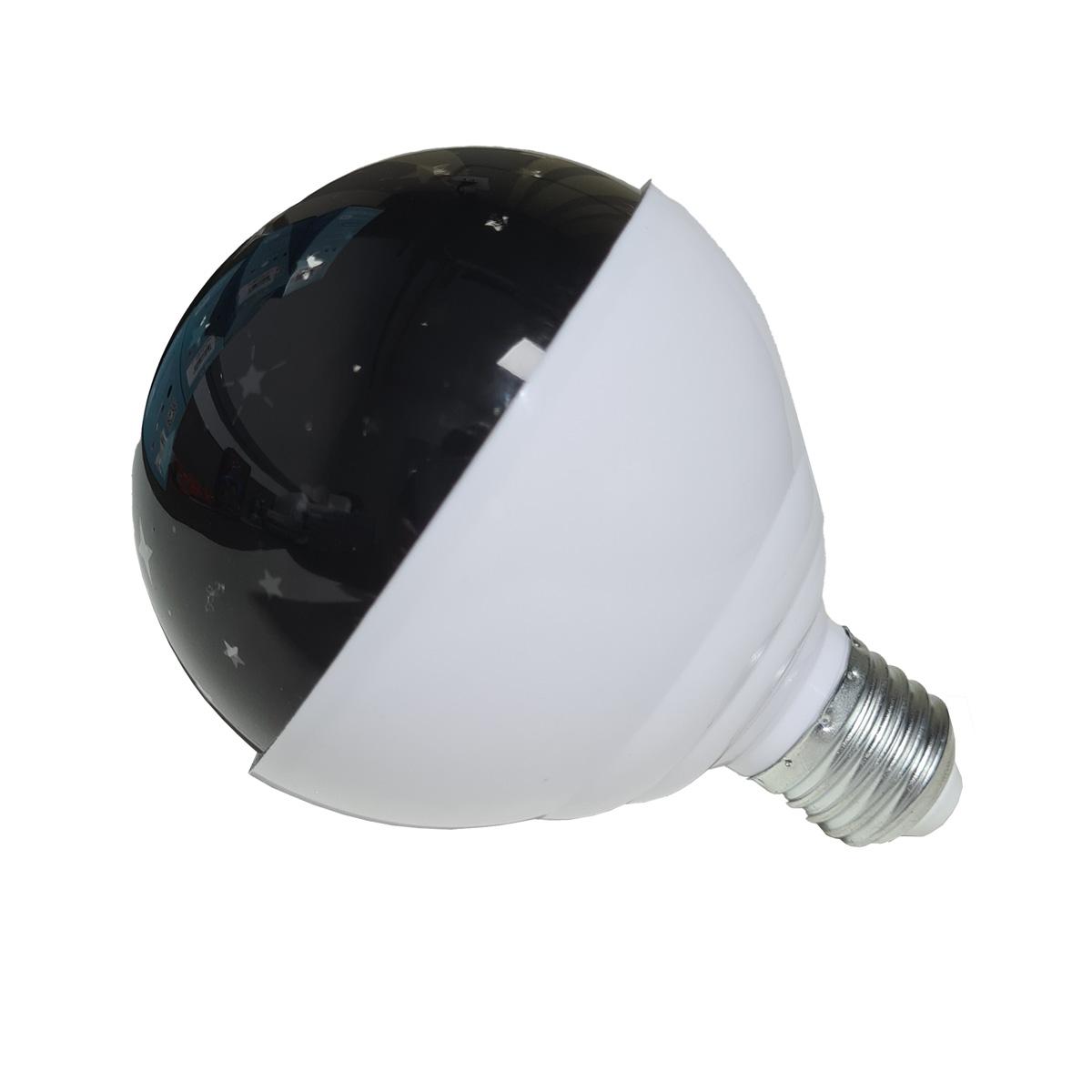 Lâmpada LED Globo Mágico Giratório Inteligente CRS-2275