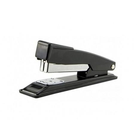 Grampeador Pequeno Metálico 26/6 24/6 para 20 Folhas Preto GP2000 BRW