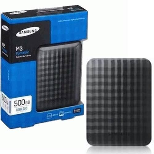 HD Externo 500GB USB 3.0 Samsung M3 HX-M500TCB/G