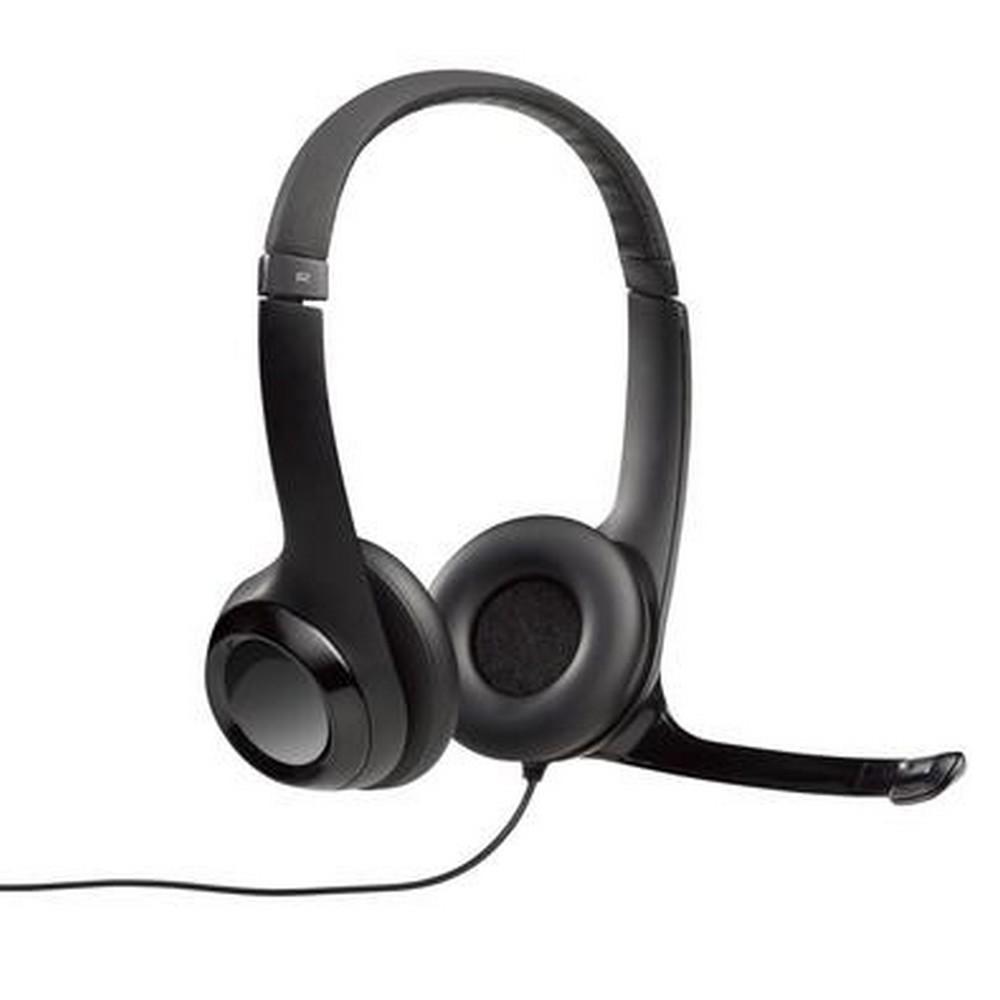 Headset Fone de Ouvido com Microfone USB Preto H390 Logitech