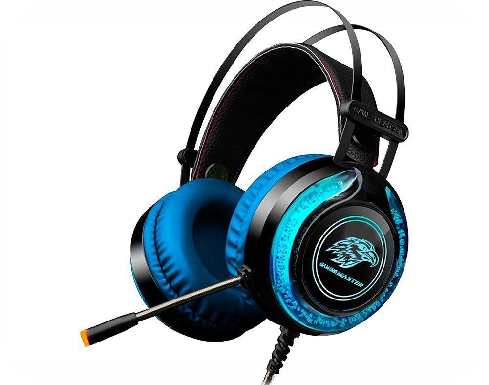 Headset Gamer LED Fone e Microfone AR-S9 Gaming Master
