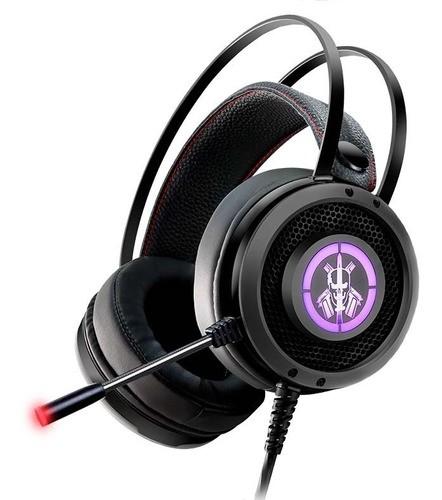 Headset Gamer LED USB Fone e Microfone AR50 Gaming Master