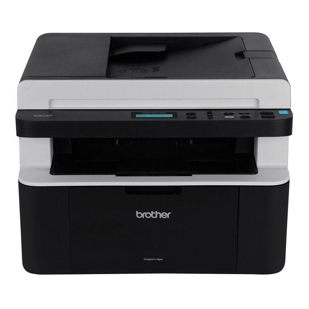 Impressora Brother Multifuncional Laser Preto sem fio DCP-1617NW