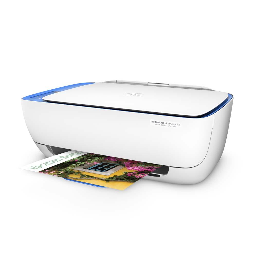 Impressora Multifuncional HP Deskjet Ink Advantage 3636 Wireless