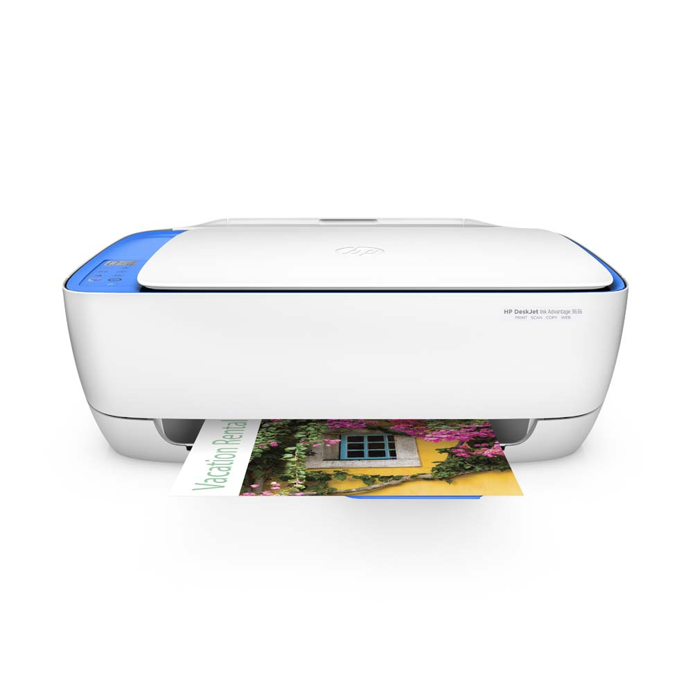 Impressora Multifuncional HP Deskjet Ink Advantage 3636 Wireless