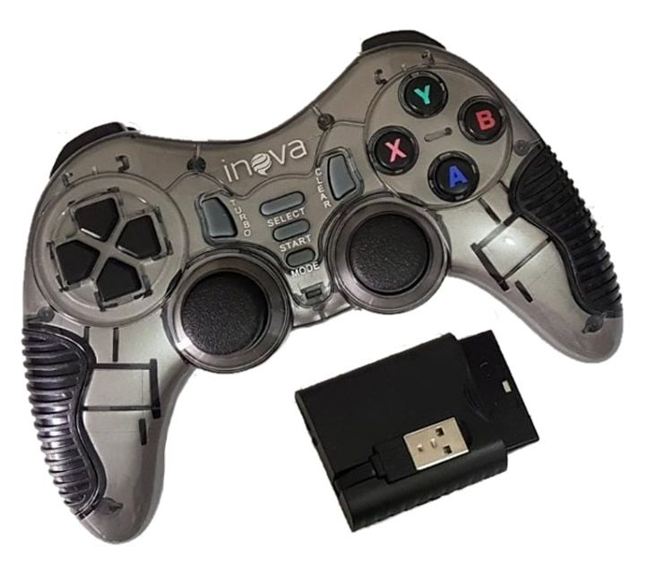 Joystick Sem Fio para PS3 PC TV Android Inova CON-7195