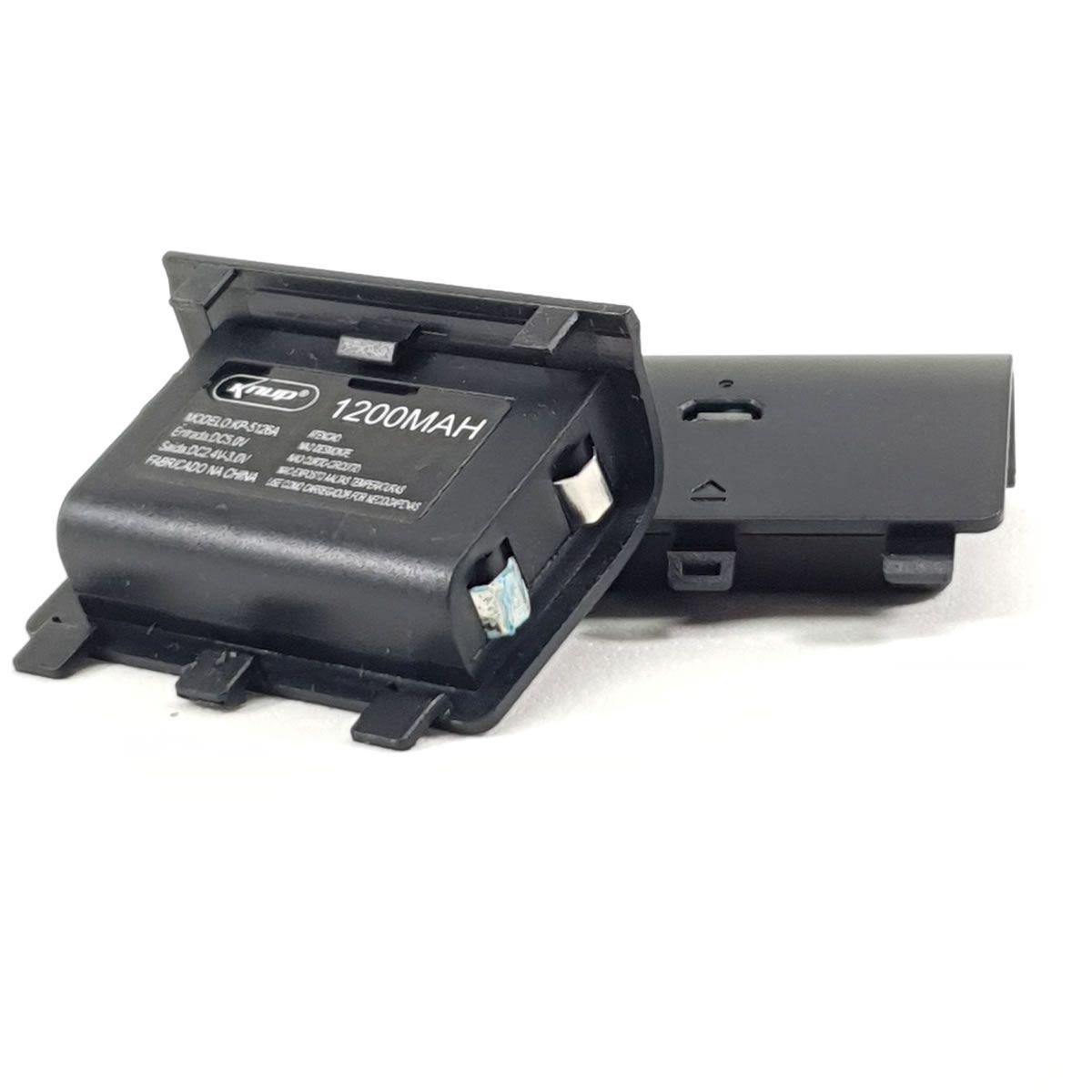 eanxKit 2 baterias recarregável com carregador para controle Xbox One