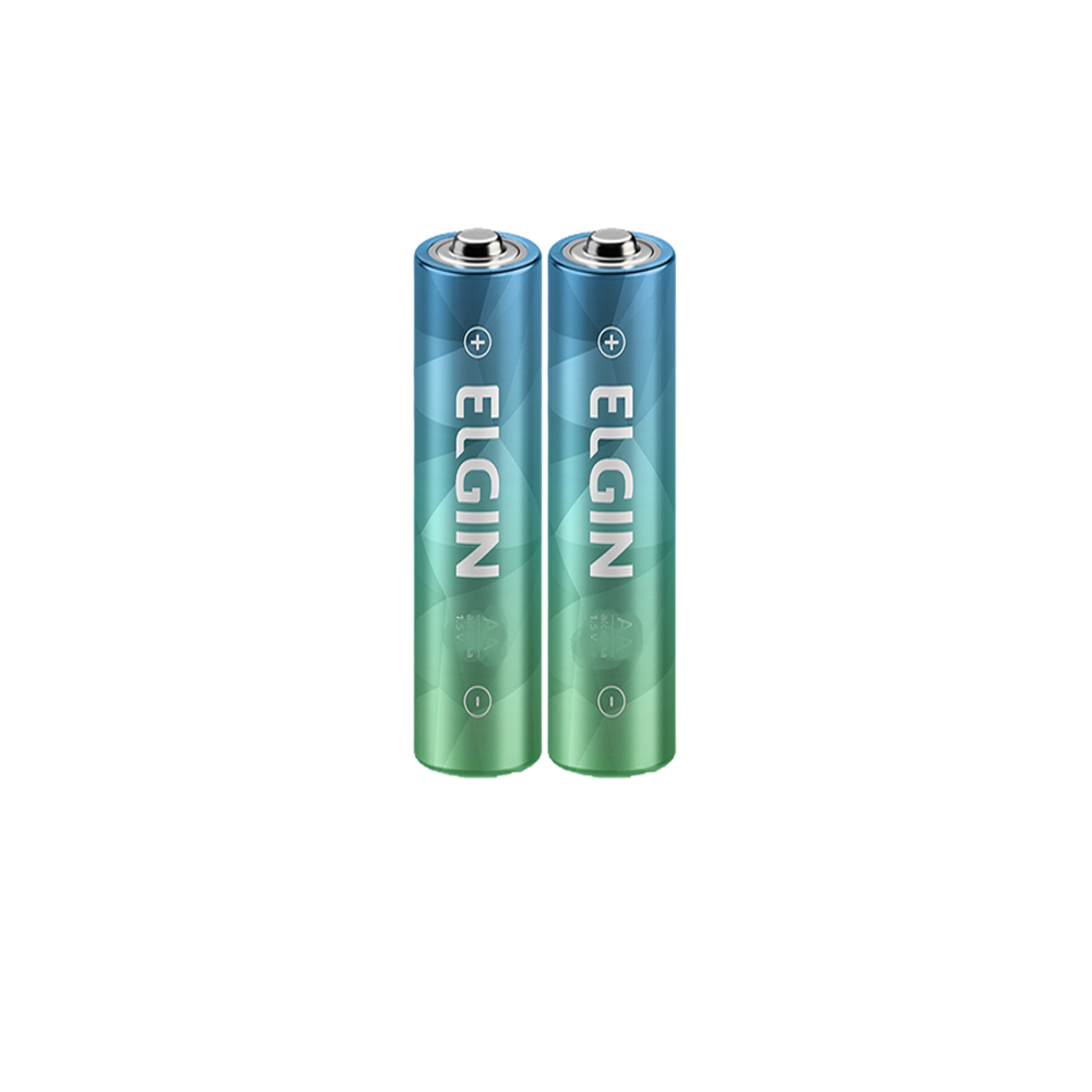 Kit 2 Pilhas AAA Alcalina 1.5V Energy Elgin